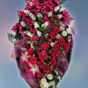 Венок из искуственных цветов элит. 110см-180см №11