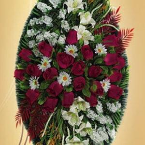 Венок из искуственных цветов элит. 110см-180см №17