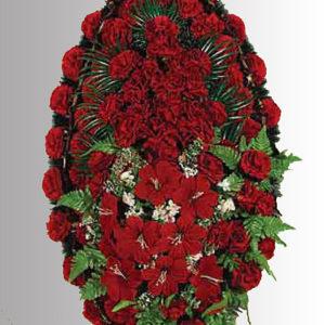 Венок из искуственных цветов элит. 110см-180см №9