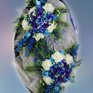 Венок из искуственных цветов элит. 110см-180см №16