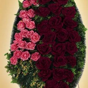 Венок из искуственных цветов элит. 110см-180см №6