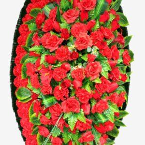 ритуальные венки из живых цветов