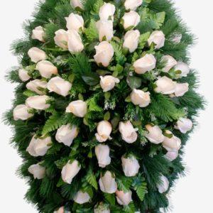 ритуальные венки из живых цветов купить