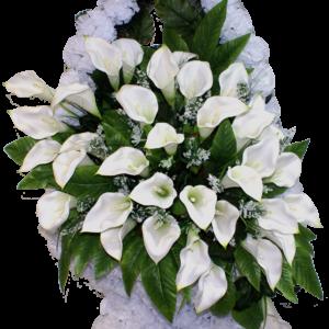 Искусственные цветы в корзине №29