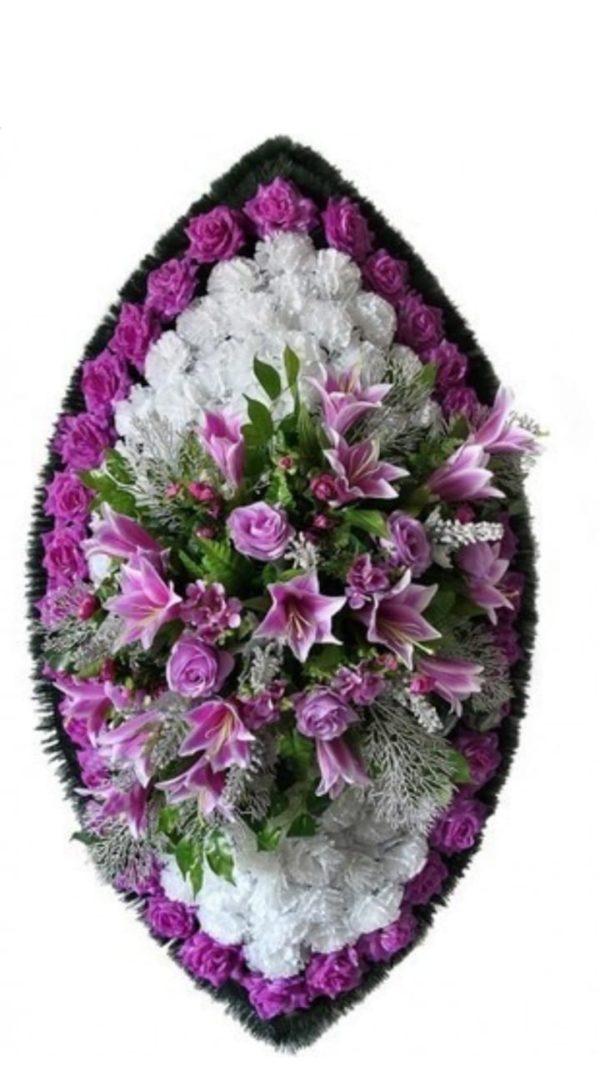 Венок из искусственных цветов элит+.120см-180см №100