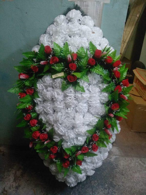 Венок из искусственных цветов элит+.120см-180см №110