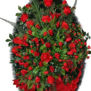Венок из искусственных цветов элит+.120см-180см №81