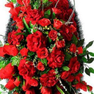 Венок из искусственных цветов элит+.120см-180см №83