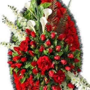 Венок из искусственных цветов элит+.120см-180см №84