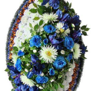 Венок из искусственных цветов элит+.120см-180см №85