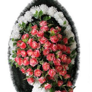 Венок из искусственных цветов элит+.120см-180см №92