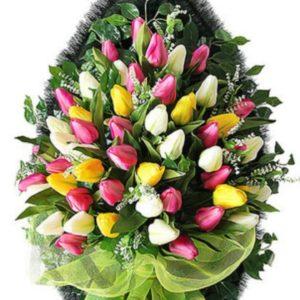 Венок из искусственных цветов элит+.120см-180см №96