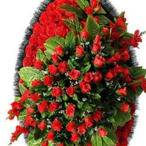 Венок из искусственных цветов элит+.120см-180см №97