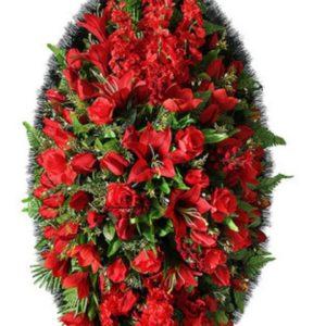 Венок из искусственных цветов элит+.120см-180см №98